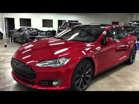 2015 Tesla P85D Complete Blackout Package