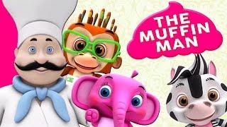 các bánh nướng xốp Đàn ông | nhac thieu nhi hay nhất | ca nhac thieu nhi | The Muffin Man