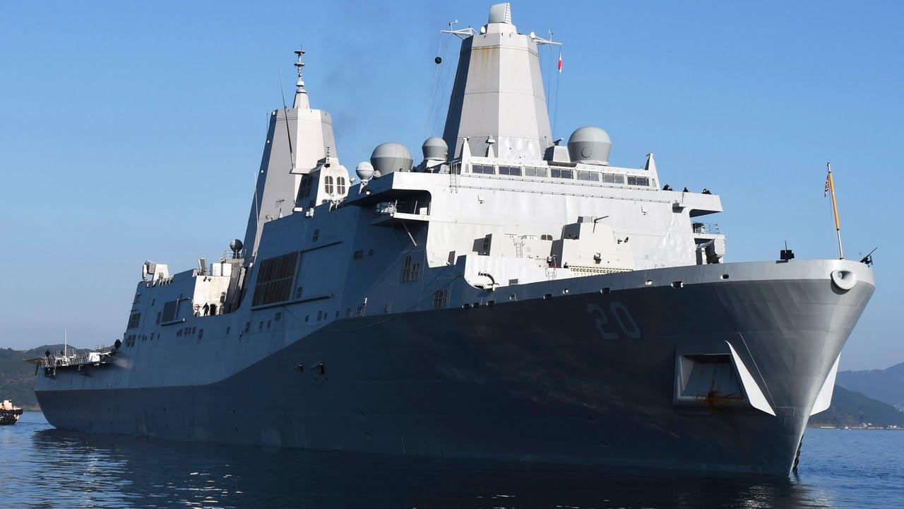 USA ミリタリー チャンネル ステルス揚陸艦「グリーン・ベイ」が佐世保基地に入港・配備 USA