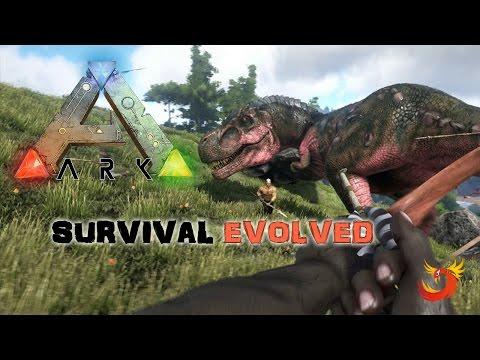 ARK Survival Evolved [ Türkçe ] # 05 - Ilk Di(l)nomuz !