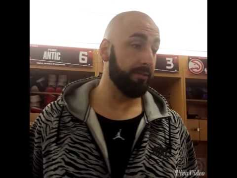 ATL Hawks Pero Antic post game Phoenix 4.7.15
