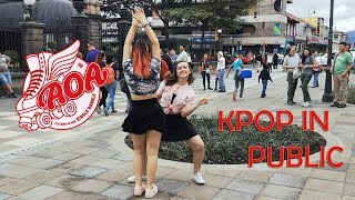 (KPOP IN PUBLIC) AOA _ Bingle Bangle(빙글뱅글) DANCE COVER