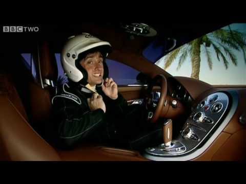 Bugatti Veyron v. McLaren F1 Drag Race - Top Gear - BBC Two Video