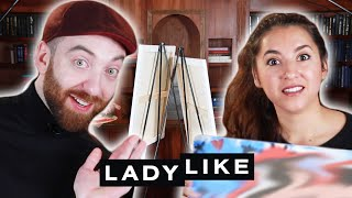 Chantel And Mike Paint Portraits Of Each Other • Ladylike