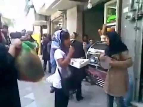 Poverty In Iran: Young Girls Sing To Make Money - June 2014 video