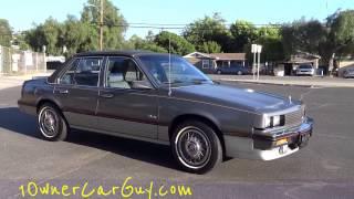 Cadillac Cimarron Sedan 2.8L V6 1 Owner Compact Luxury Car Walkaround Video Review