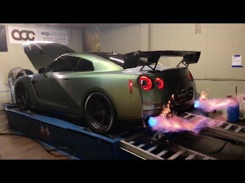 Tanner Fox Dyno Teaser Fire Ball 2017 Nissan GTR