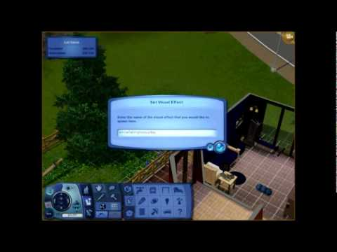 Sims 3 - How to Make Rain or Snow