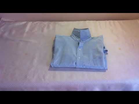 Consejos para el hogar: Técnica para doblar camisas - Consejo para doblar camisas