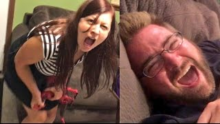 FARTED IN HER FACE RAGE! HUSBAND AND WIFE CHALLENGE GONE WRONG!