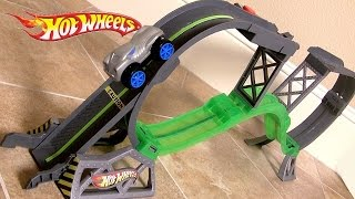 Cars Hot Wheels Rev-Ups Stunt Circuit Track Playset Zero Gravity Cars by Blucollection