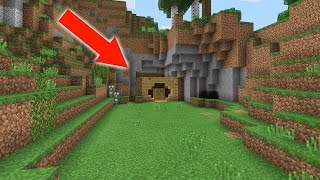 WE FOUND a HIDDEN BASE in MINECRAFT POCKET EDITION! (Realms Ep. 2)