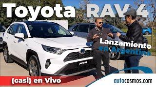 Toyota RAV4 Híbrida Lanzamiento en Argentina (casi) en Vivo | Autocosmos