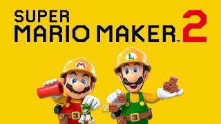 Super Mario Maker 2 Story Gameplay