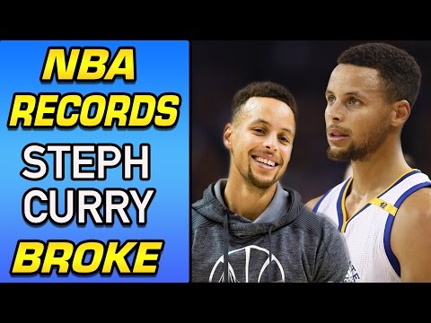 NBA Records STEPH CURRY Has Broken! 5 Stats That PROVE He's a NBA All Time Great