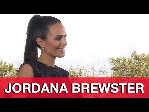 Furious 7 Jordana Brewster Interview - Fast & Furious 7