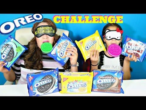 OREO COOKIES CHALLENGE!!! B2cutecupcakes