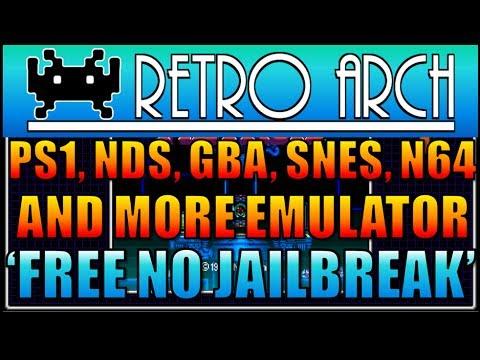 Playstation 1. Nintendo DS. GBA. N64. SNES Emulator RetroArch iOS 8/7 Free No Jailbreak iPad. iPhone