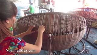 Hướng dẫn cách đan ghế hồ bơi 452 với khung sắt sơn tĩnh điện đan sợi nhựa giả mây kháng uv