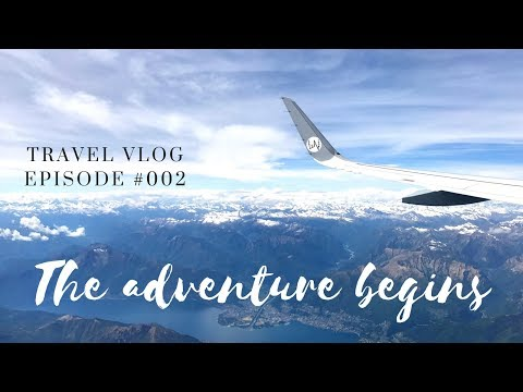 LeAw Vlog #002 - THE ADVENTURE BEGINS
