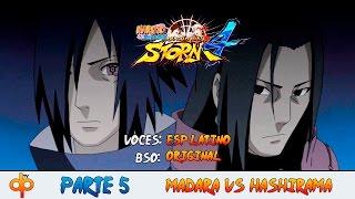 Naruto Shippuden Ultimate Ninja Storm 4 Español Latino Parte 5 | Historia de Hashirama y Madara