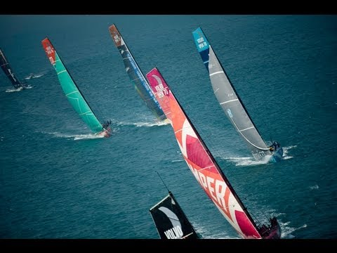 Volvo Ocean Race - Sanya Leg 4 Start Buddha Course Part 2 2011-12