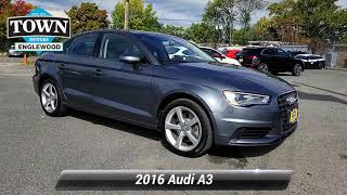 Used 2016 Audi A3 2.0t Premium, Englewood, NJ PAA9854