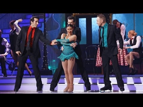 Hayley Tamaddon - Dancing on Ice 2014 - week 10