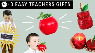 3 Teachers Gift DIY tutorials | Apple Planter | Pencil Wreath | DIY Apple gifts