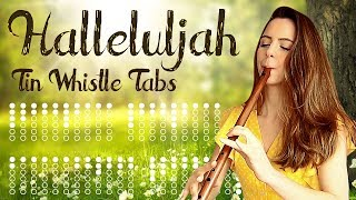 Learn To Play HALLELUJAH - Tin Whistle Tabs For Beginners