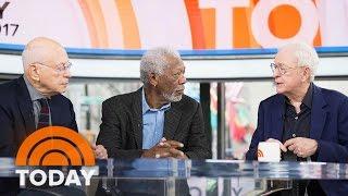 Morgan Freeman, Michael Caine, And Alan Arkin Talk