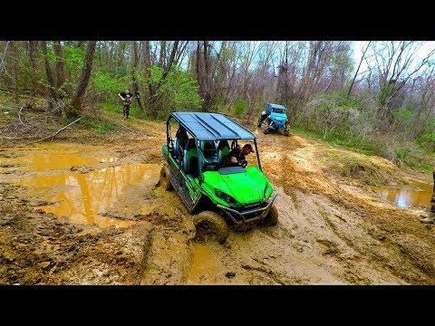 River Run   Keith Breaks In His Brand New Kawasaki Teryx