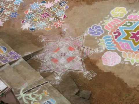 Rangoli Kolam Kadhal Roja video