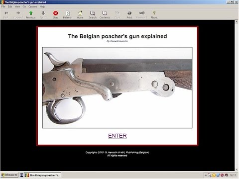 Belgian folding poacher's shotguns explained - HLebooks.com