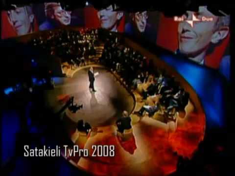 Sgarbi vs Travaglio e Santoro – Annozero del 1 maggio 2008