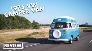 What it's like to own a 1975 VW Camper van
