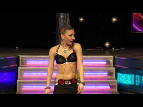Polina Shandarina 2013, tribal fusion improvisation in Kiev, Ukraine.
