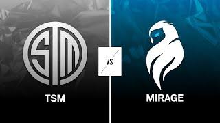 TSM vs Mirage // Rainbow Six North American league 2021 - Stage 1 - Playday 3