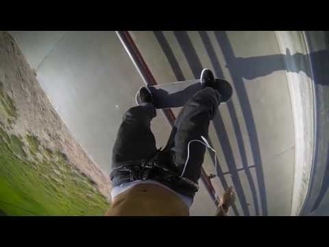 GoPro Hero 3 Skateboarding, Kennedy Skatepark Montage