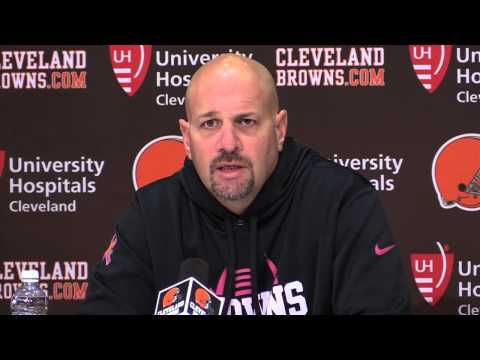 Mike Pettine on Ben Tate's return and managing the reps of Terrance West and Isaiah Crowell