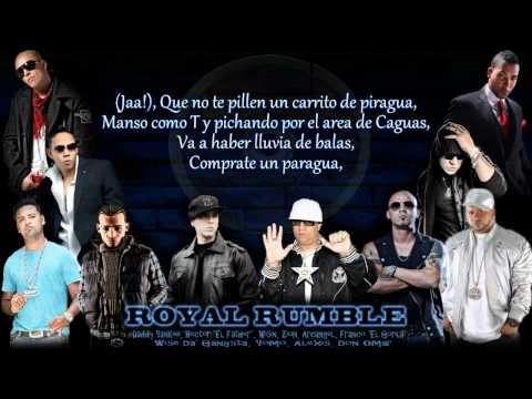 Los Benjamins - Royal Rumble se Van   (mas Flow: Los Benjamins) © 2006. video