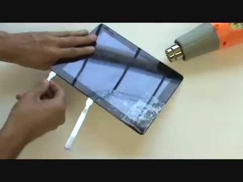 iPad 2 Screen Repair LCD Glass Replacement Tutorial   GadgetMenders.com