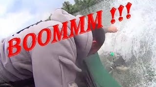 CATFISH VS BOAT - SCARY FOOTAGE - HD by CATFISHING WORLD