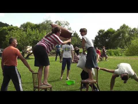 Активные игры _ Молодёжный Лагерь Кричево 2016