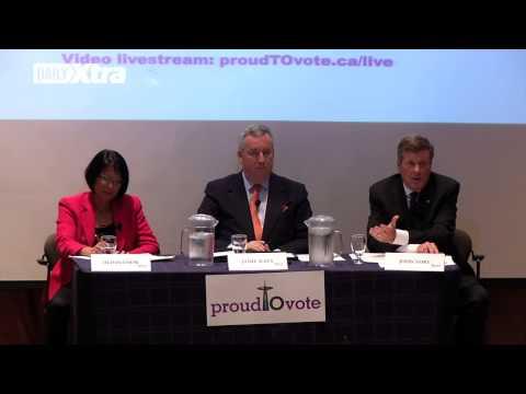 Toronto mayoral debate heats up over QuAIA at Toronto Pride