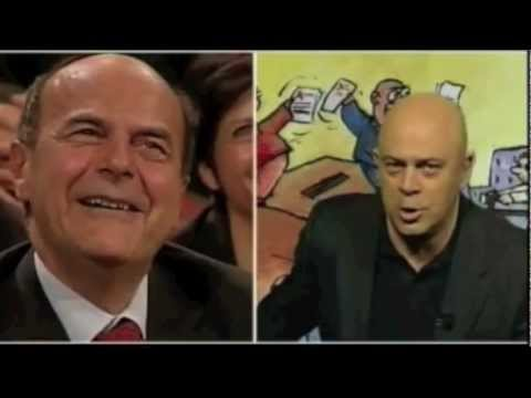 Crozza VS. Bersani (Compilation)