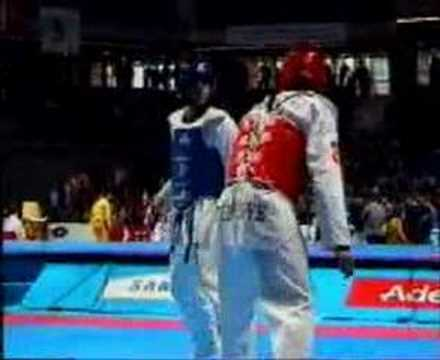 WORLD CHAMPIONSHIPS 2005 1/4 FINAL: KARAMI - BAHRI(turkey)