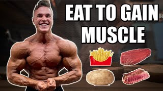 FULL DAY OF EATING - Eating To Gain Muscle Episode 2