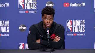 Kyle Lowry Uses Mom and Grandma to Explain What Real Pressure Is
