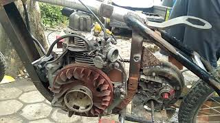 Review motor pake mesin diesel bensin PART 1